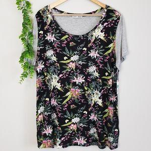 NWT Dex Floral Jersey T-Shirt